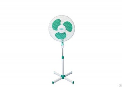 Вентилятор напольный DELTA DL-020N Бело-зеленый -
